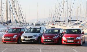 Die Kleinwagen-Hits der Abwrackprämie: Suzuki Swift, Dacia Sandero Stepway, Ford Fiesta, Skoda Fabia