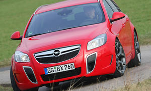 Stärkstes Opel-Serienmodell aller Zeiten: Opel Insignia Sports Tourer OPC im Test