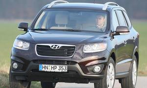 Erster Test: Hyundai Santa Fe 2.2 CRDi 4WD Automatik