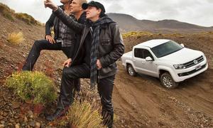 """Wind of Change: AUTO ZEITUNG fuhr den neuen VW Amarok mit den """"Scorpions"""