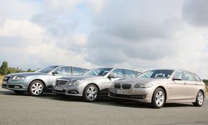 Oberklasse-Kombis: BMW 5er Touring im Vergleich