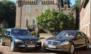 Luxusklasse-Limousinen im Vergleichstest: BMW 750i und Mercedes S 500 BlueEFFICIENCY