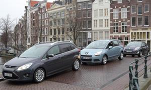 Kompakt-Vans im Test: Ford Grand C-Max, Peugeot 5008, Renault Grand Scénic