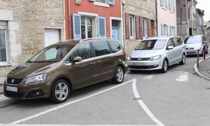 Die Vans Ford Galaxy, VW Sharan und Seat Alhambra im Test der AUTO ZEITUNG