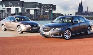 Oberklasse im Vergleichstest: Saab 9-5 2.0T und Volvo S80 2.0T
