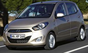 Hyundai i10 1.2 im Fahrbericht der AUTO ZEITUNG