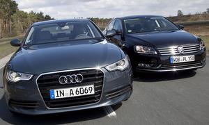 Diesel-Limousinen im Vergleichstest der AUTO ZEITUNG