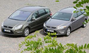 Ford Mondeo Turnier und S-MAX im Vergleich