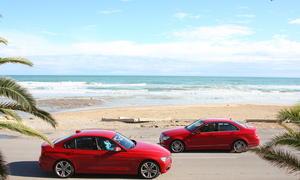 Mittelklasse-Vergleich der AUTO ZEITUNG, BMW gegen Mercedes