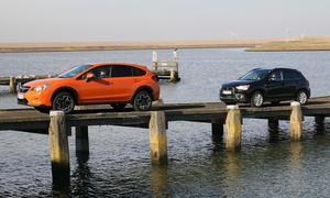 Kompakt-SUV: Der neue Subaru XV im Vergleich der AUTO ZEITUNG mit Mitsubishi ASX