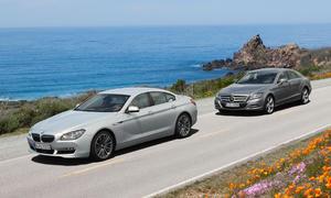 BMW 640i Gran Coupé und Mercedes CLS 350 im Oberklasse-Vergleich