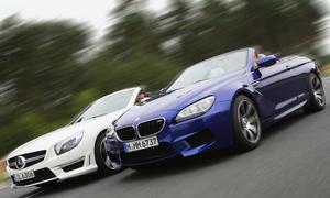 Cabrios: BMW M6 Mercedes SL 63 AMG Vergleich