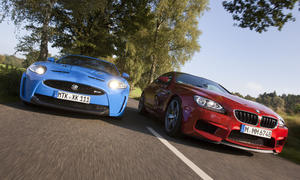 Sportcoupé-Vergleichstest: BMW M6 Coupé gegen Jaguar XKR-S