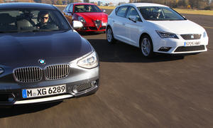 Seat Leon 2.0 TDI Ecomotive, 2012, BMW 118d, Alfa Romeo Giulietta 2.0 JTDM TCT, Vergleichstest, Kompaktklasse