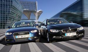 Mittelklasse-Kombi-Test 2013: Audi A4 Avant gegen BMW 3er Touring