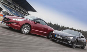 Sportcoupé-Vergleichstest 2013: Peugeot RCZ 200 THP vs. Subaru BRZ Sport