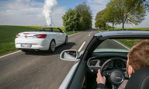 Mittelklasse-Cabrios im Vergleich: Audi A5 und Opel Cascada im Test