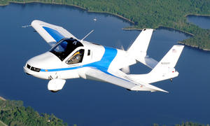 Terrafugia Transition: Auto und Flugzeug in Einem