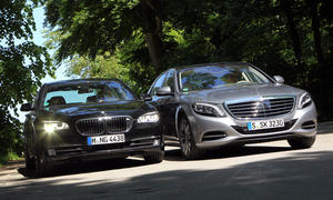 Luxuslimousinen-Vergleichstest 2013: Mercedes S 500 Lang gegen BMW 750Li