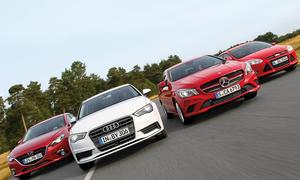 Audi A3, Ford Focus, Mazda 3, Mercedes CLA - Kompakte Limousinen im Test