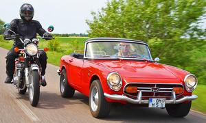 Honda S800 & CB 750 Four: Classic Cars