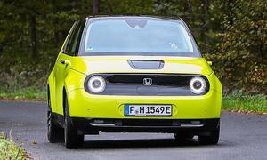 Honda e: Test