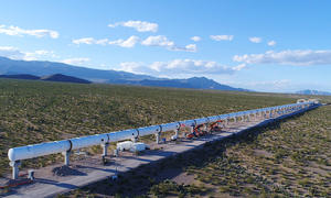 Hyperloop One Teststrecke