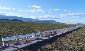 Hyperloop One Teststrecke