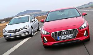Hyundai i30/Opel Astra: Gebrauchtwagen kaufen