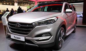 Hyundai Tucson auf der IAA