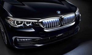 Beleuchtete BMW-Niere