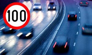 Illegales Autorennen auf Autobahn