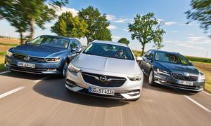 VW Passat Variant/Skoda Superb Combi/Opel Insignia Sports Tourer