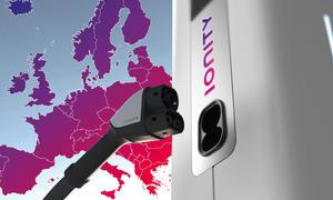 Autohersteller bauen Ladestation-Netz Ionity