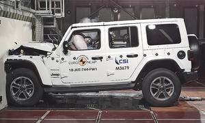 Jeep Wrangler (2018): Crashtest