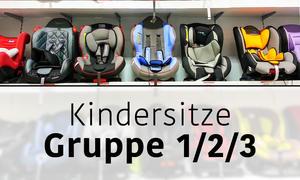 Kindersitz Gruppe 1/2/3 Header