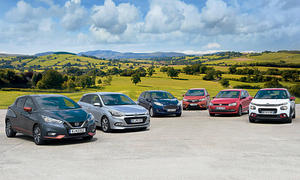 C3/Fiesta/Jazz/i20/Micra/Polo: Test