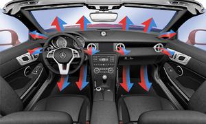Klimaanlage bei Mercedes