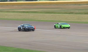 Lamborghini Huracán vs. Nissan GT-R: Video