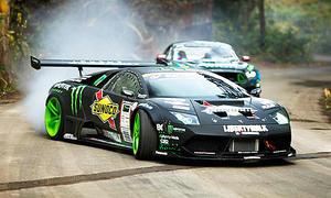 Lamborghini Murcielago V12 und Ford Mustang RTR