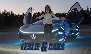 Mercedes Vision AVTR (2020): Leslie & Cars