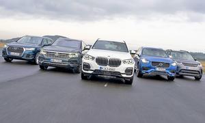 Audi Q7/BMW X5/Land Rover Discovery/Volvo XC90/VW Touareg