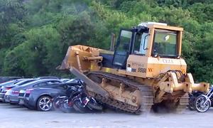 68 Luxus- und Sportwagen zerstört