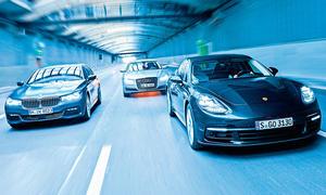 Luxus-Diesel im Vergleichstest