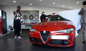 Alfa Romeo Giulia QV von Mario Balotelli