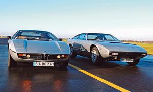 Maserati Bora & Khamsin: Classic Cars