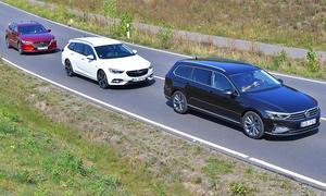 Mazda6 Kombi/Opel Insignia Sports Tourer/VW Passat Variant