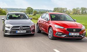 Mercedes A-Klasse/Seat Leon: Vergleich