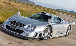 Teuer, schnell, selten – Mercedes-Exot CLK GTR