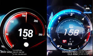 Mercedes CLS 400d/BMW 540d: Video